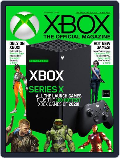 Official Xbox February 1st, 2020 Digital Back Issue Cover