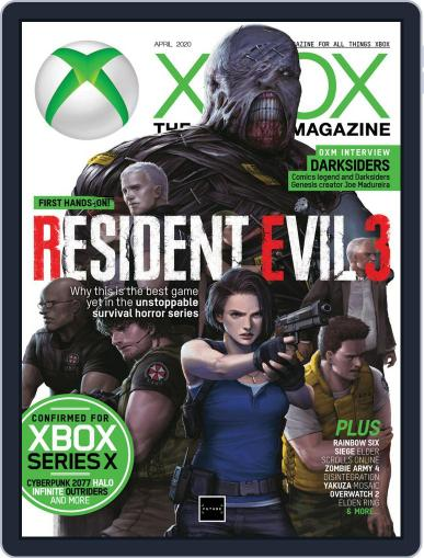 Official Xbox April 1st, 2020 Digital Back Issue Cover