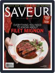 Saveur (Digital) Subscription November 15th, 2008 Issue