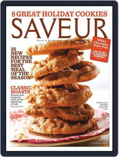 Saveur December 1st, 2012 Digital Back Issue Cover