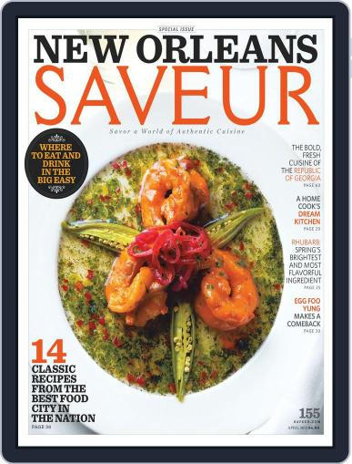 Saveur April 1st, 2013 Digital Back Issue Cover