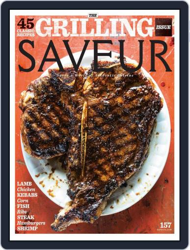 Saveur June 1st, 2013 Digital Back Issue Cover