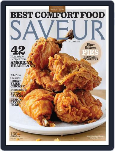 Saveur August 1st, 2013 Digital Back Issue Cover