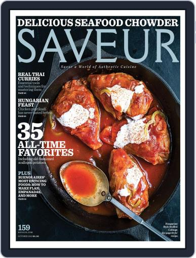 Saveur October 1st, 2013 Digital Back Issue Cover