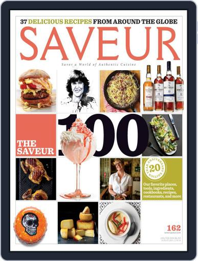 Saveur January 1st, 2014 Digital Back Issue Cover