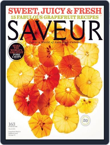 Saveur March 1st, 2014 Digital Back Issue Cover