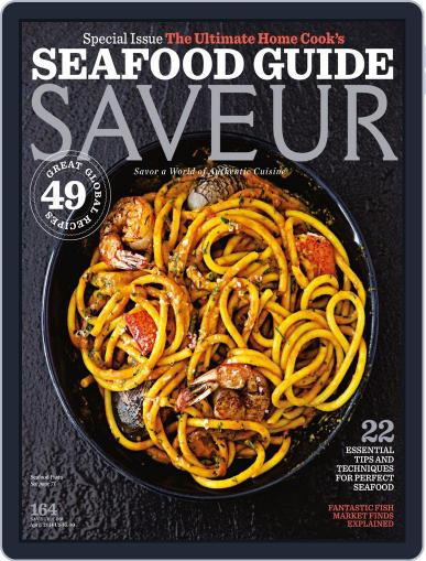 Saveur April 1st, 2014 Digital Back Issue Cover