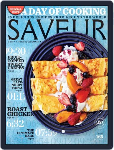 Saveur May 1st, 2014 Digital Back Issue Cover