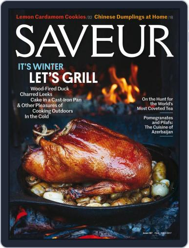 Saveur February 1st, 2017 Digital Back Issue Cover