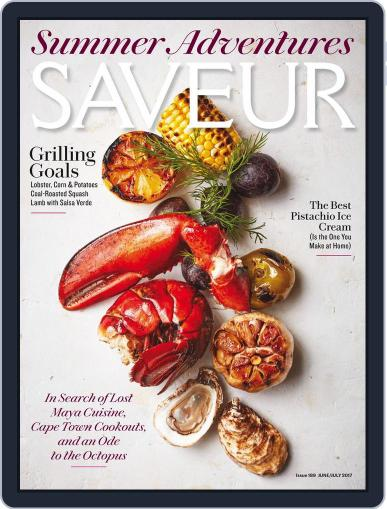 Saveur June 1st, 2017 Digital Back Issue Cover