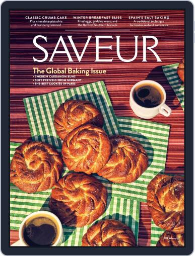 Saveur October 10th, 2018 Digital Back Issue Cover