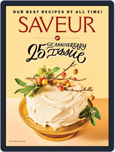 Saveur November 20th, 2019 Digital Back Issue Cover