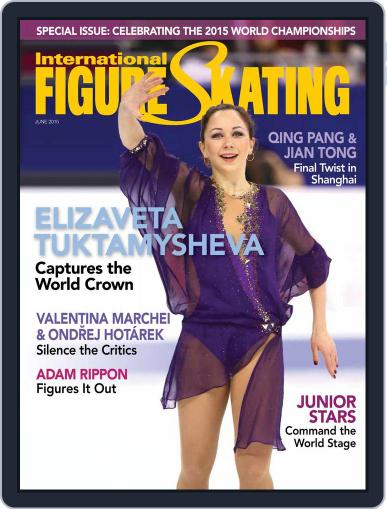 International Figure Skating June 1st, 2015 Digital Back Issue Cover