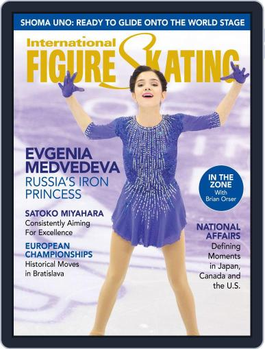 International Figure Skating February 27th, 2016 Digital Back Issue Cover