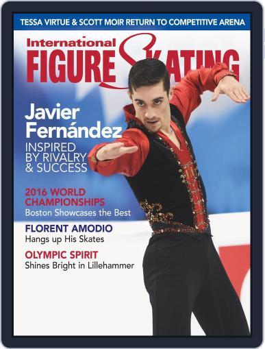 International Figure Skating April 23rd, 2016 Digital Back Issue Cover