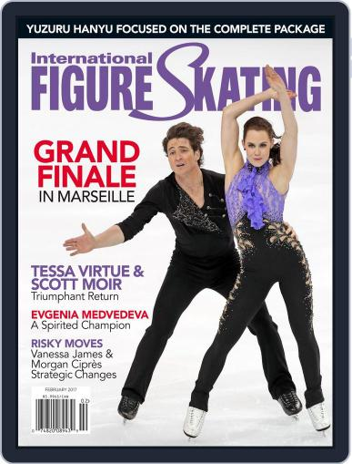 International Figure Skating January 1st, 2017 Digital Back Issue Cover