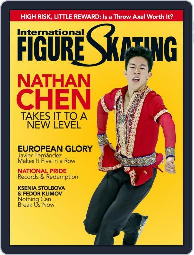 International Figure Skating March 1st, 2017 Digital Back Issue Cover
