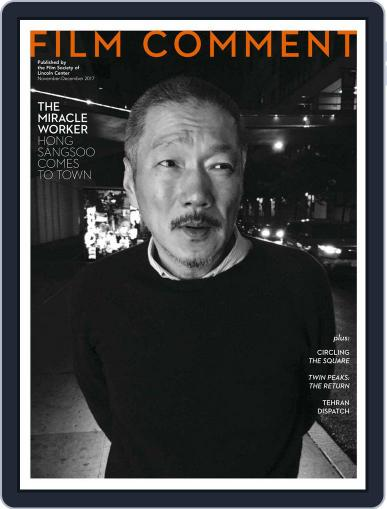 Film Comment November 1st, 2017 Digital Back Issue Cover