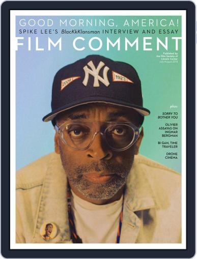 Film Comment July 1st, 2018 Digital Back Issue Cover