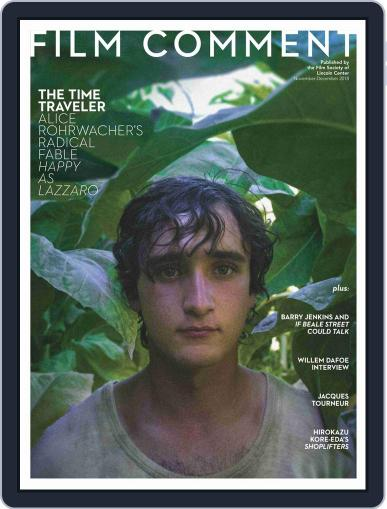Film Comment November 1st, 2018 Digital Back Issue Cover