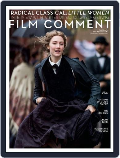Film Comment November 1st, 2019 Digital Back Issue Cover