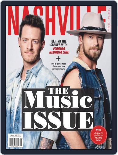 Nashville Lifestyles January 1st, 2019 Digital Back Issue Cover