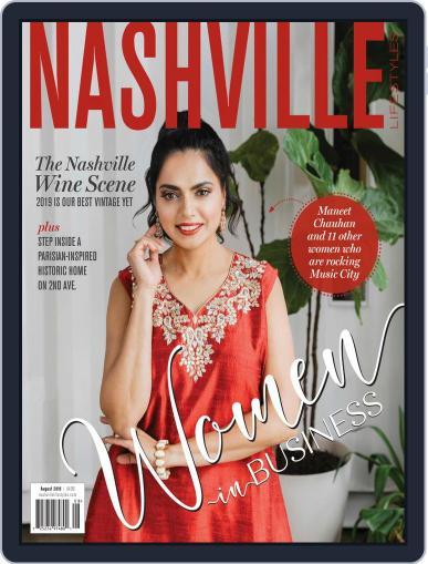 Nashville Lifestyles August 1st, 2019 Digital Back Issue Cover