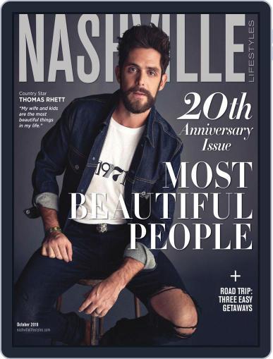 Nashville Lifestyles October 1st, 2019 Digital Back Issue Cover