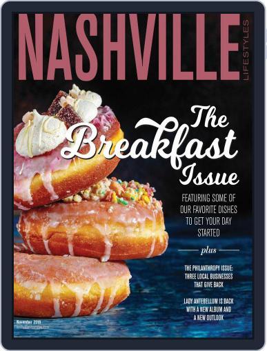Nashville Lifestyles November 1st, 2019 Digital Back Issue Cover