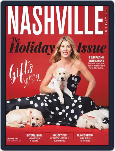 Nashville Lifestyles December 1st, 2019 Digital Back Issue Cover