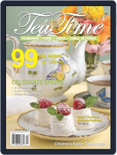 TeaTime March 1st, 2009 Digital Back Issue Cover