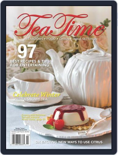 TeaTime January 1st, 2010 Digital Back Issue Cover