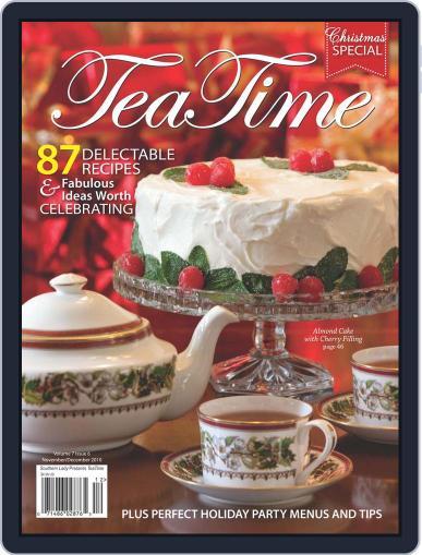TeaTime November 1st, 2010 Digital Back Issue Cover