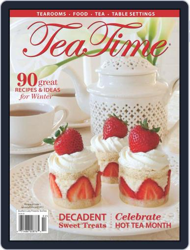TeaTime January 1st, 2011 Digital Back Issue Cover