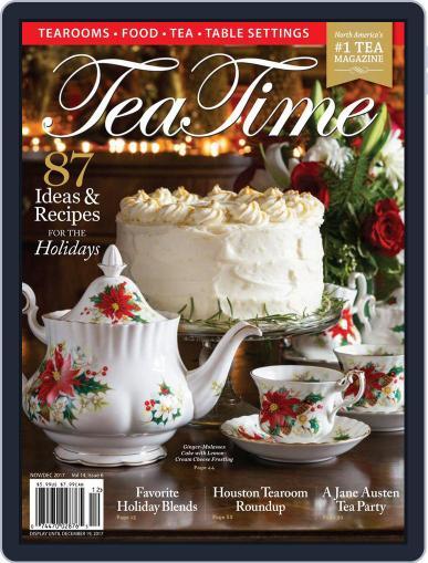 TeaTime November 1st, 2017 Digital Back Issue Cover