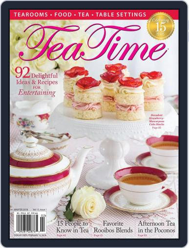 TeaTime January 1st, 2018 Digital Back Issue Cover