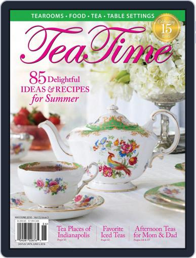TeaTime May 1st, 2018 Digital Back Issue Cover