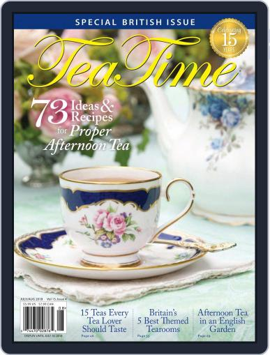 TeaTime July 1st, 2018 Digital Back Issue Cover