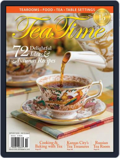 TeaTime September 1st, 2018 Digital Back Issue Cover