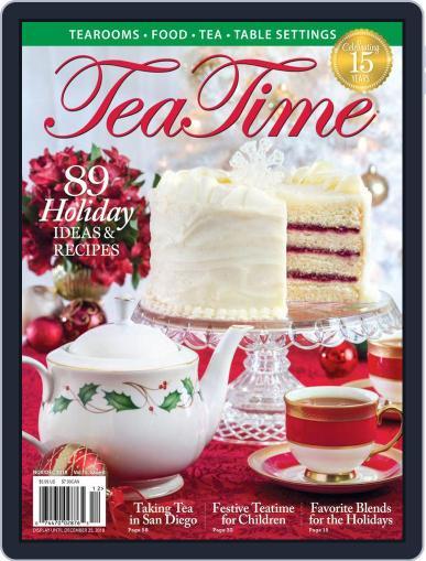 TeaTime November 1st, 2018 Digital Back Issue Cover