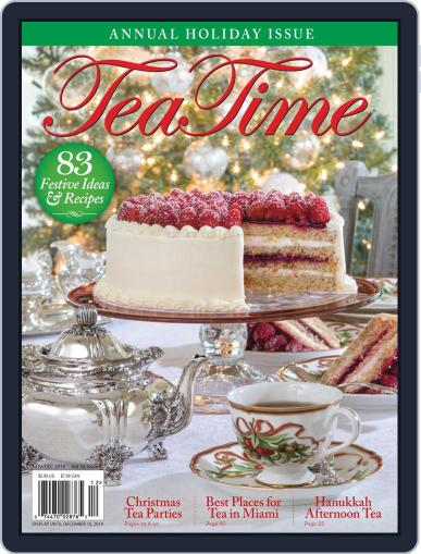 TeaTime November 1st, 2019 Digital Back Issue Cover