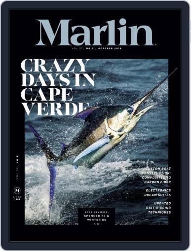 Marlin October 1st, 2018 Digital Back Issue Cover