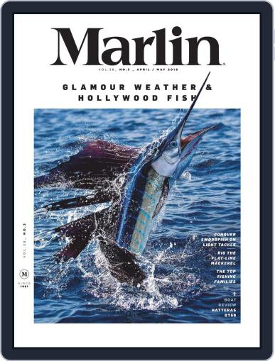 Marlin April 1st, 2019 Digital Back Issue Cover