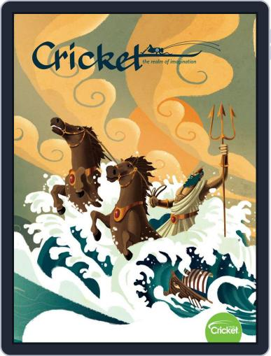 Cricket Magazine Fiction And Non-fiction Stories For Children And Young Teens April 1st, 2019 Digital Back Issue Cover