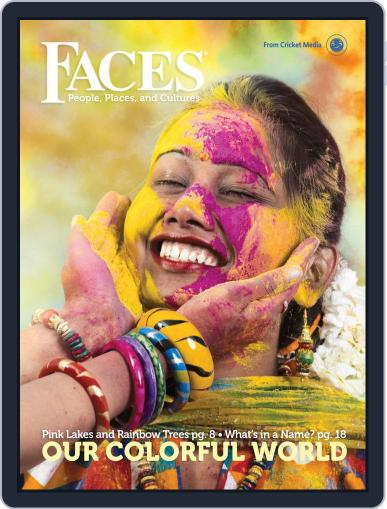 Faces People, Places, and World Culture for Kids and Children July 1st, 2018 Digital Back Issue Cover