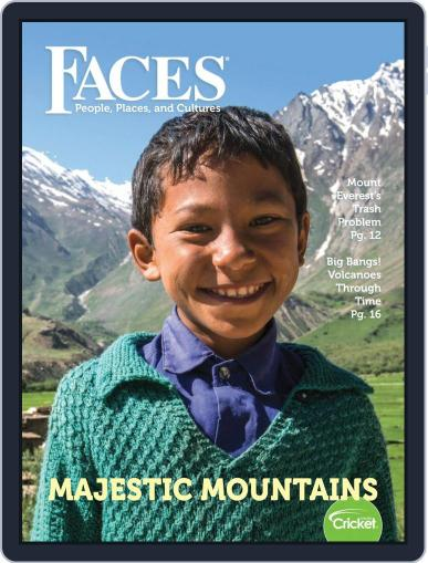 Faces People, Places, and World Culture for Kids and Children September 1st, 2018 Digital Back Issue Cover