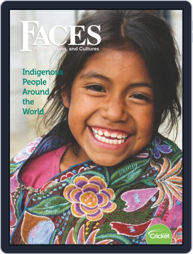 Faces People, Places, and World Culture for Kids and Children March 1st, 2019 Digital Back Issue Cover