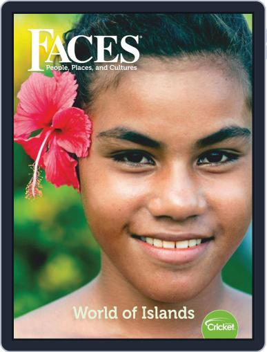 Faces People, Places, and World Culture for Kids and Children April 1st, 2019 Digital Back Issue Cover