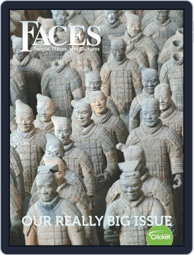 Faces People, Places, and World Culture for Kids and Children July 1st, 2019 Digital Back Issue Cover