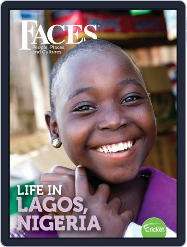 Faces People, Places, and World Culture for Kids and Children November 1st, 2019 Digital Back Issue Cover